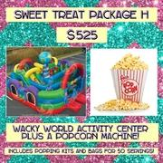 SWEET TREAT PACKAGE H- Popcorn and Wacky World!