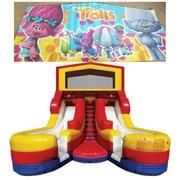 TROLLS Double Splash WATER Slide