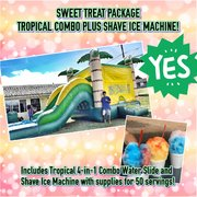 TROPICAL 4-IN-1 COMBO AND SHAVE ICE