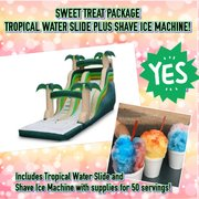 TROPICAL SLIDE AND SHAVE ICE