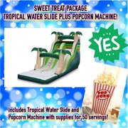 TROPICAL SLIDE AND POPCORN