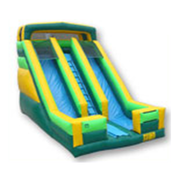 20ft. Green Slide