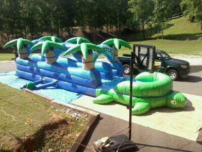 Slip n Dip Water Slide - Dual Lane
