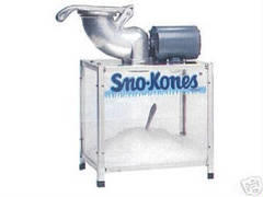 Sno Cone Machine (incl 25 servings)