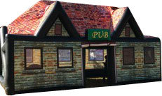Inflatable Irish Pubs