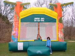 Jungle Safari Bounce Castle