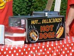 Hot Dog Table Steamer