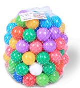 Bag of plastic balls