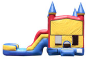 JA-COM-511-Toddler Castle Slide Wet