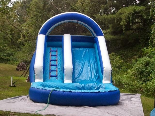 12ft Front Load Waterslide