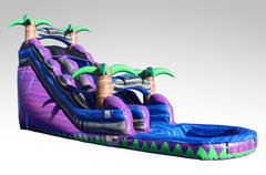 18ft A Purple Crush Water Slide