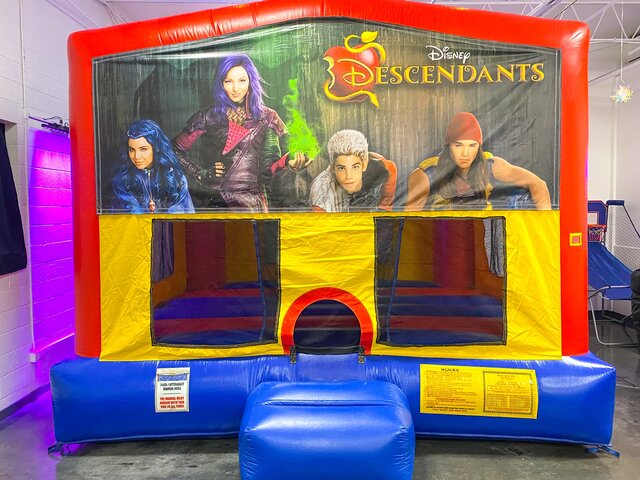 Descendants Bounce House