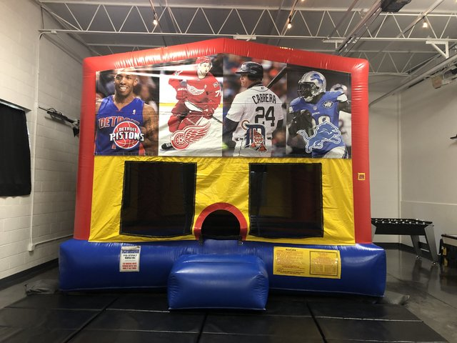 Detroit Sports Bounce House