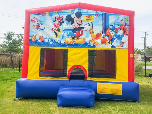 Mickey Mouse Fun Factory Bounce House