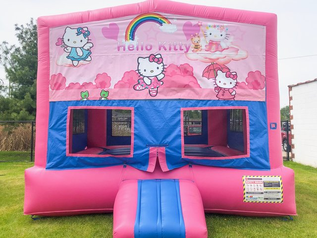 Hello Kitty 2 Bounce House