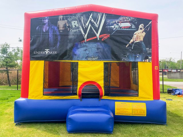 WWE Wrestling Bounce House
