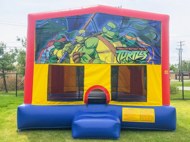 Ninja Turtles 2 Bounce House