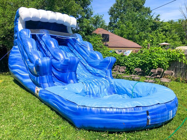 13ft Tsunami Water Slide