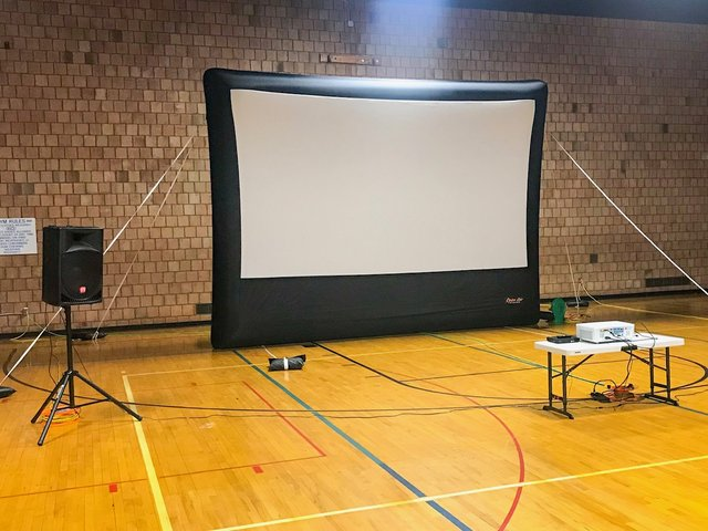 Inflatable Movie Screen System