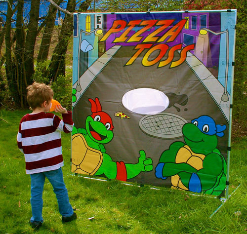 Turtle Pizza Toss