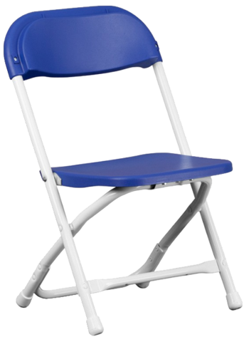 Toddler Blue Chair