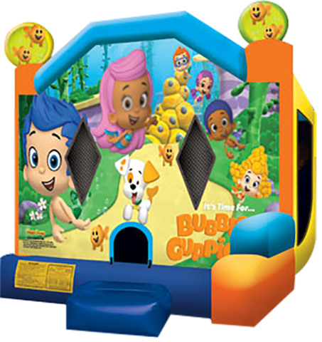 Bubble Guppies Castle