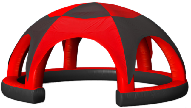Inflatable Tent Red