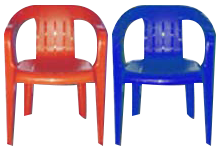 Blue & Red Kid chairs