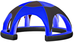 Inflatable Tent Blue