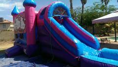 Water Slide Combo Bounce House