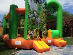 Wet Dry Slide Combo Bounce House