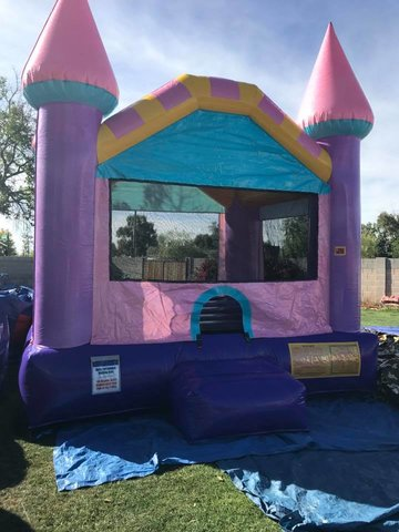A Glitter Bounce House Dazzling 13x13