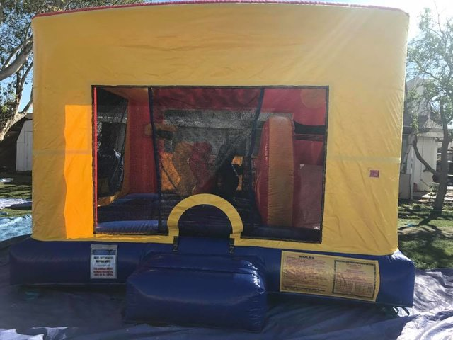 Toddler Bounce house Slide combo Dry only