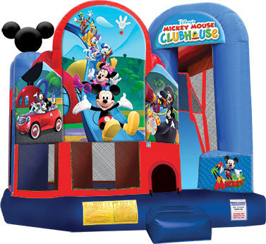 Mickey Mouse Backyard Slide Combo