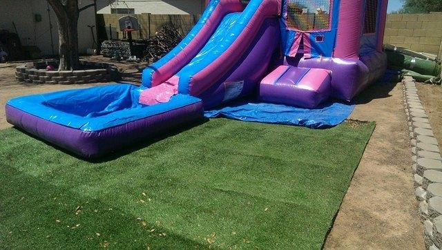 Pink Castle Slide Combo 3 in 1