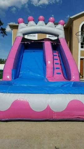 16ft Princess Pink Water Slide