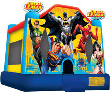 Justice League Bounce house 11x13