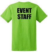 Event Staff (listed by hours)