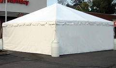 Tent Side Wall with Solid Wall
