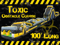 Toxic 100' Obstacle Course