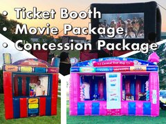 Complete Outdoor Movie Event Package