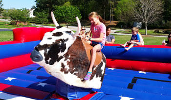 Atlanta GA Mechanical Bull Rental