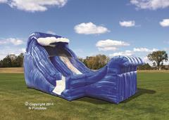 15 Foot Lil Dip Waterslide