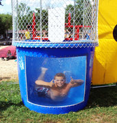 Dunk Tank with Window! (250 pound limit)