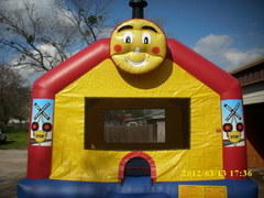 Train Bouncer -13x13ft-