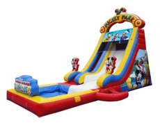 Mickey Mouse Water Slide With Pool