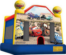 Cars Jumping castle  FOR AGES UP TO 12