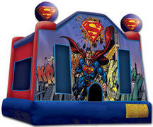 Superman Jumping castle FOR AGES UP TO 12