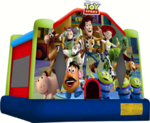 Toy Story Jumping castle FOR AGES UP TO 12
