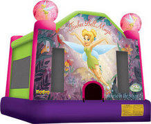 Tinker Bell Jumping castle  FOR AGES UP TO 12